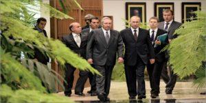 Visit of Vladimir Putin to Cuba in July 2014