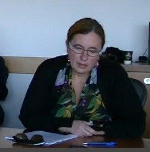 Halyna Mokrushyna, one of the presenters to the Dec 4, 2014 seminar in Ottawa, Canada
