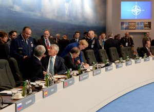 Meeting of defense ministers at NATO summit meeting in Wales, summer 2014, photo by NATO Summit Wales 2