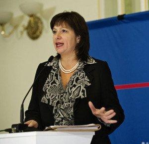 Natalie Jaresko, pictured in 2011, photo by Sergei Illin, Victor Pinchuk Foundation