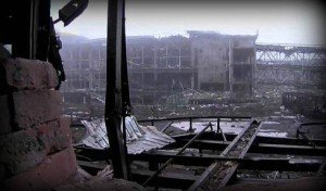 Ruined Donetsk international airport, photo by Evelin Pietza