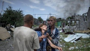 Shelling in Luhansk region early July 2014, photo RIA Novosti, Valeriy Melnikov