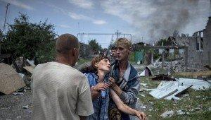 Shelling in Luhansk region early July 2014, photo RIA Novosti, Valeriy Melnikov