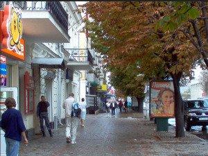 Street scene in Simferopol, image from Flikr Commons