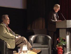 John Pilger speaking to Logan Symposium, London UK on Dec 5, 2014
