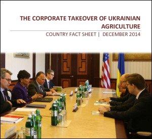Oakland Institute Ukraine agribusiness report