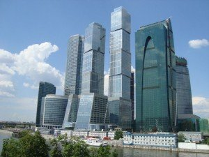 Moscow business district
