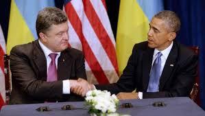 Poroshenko and Obama in June 2014