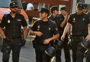 Spanish police, photo from Flikr Commons