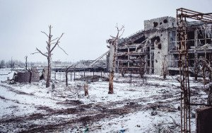 The ruins of Donetsk International Airport, photo by Max Avdeev for BuzzFeed News