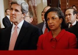 U.S. Secretary of State John Kerry and National Security Advisor Susan Rice