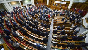 Ukraine Rada (Parliament) in session, photo by Evgeny Kotenko, RIA Novosti