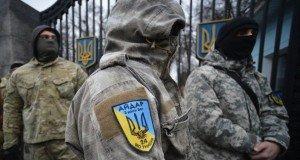 'Aidar Battalion' members, photo by Evgeny Kotenko, Sputnik
