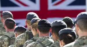British soldiers, image by UK Ministry of Defense, on Flikr