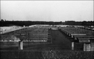 Nazi concentration camp for women at Ravensbrück  Germany, photo from Brandenburg Memorial Foundation