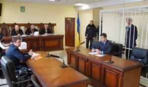 Courtroom appeal on March 27, 2015 by Alexander Bondarchyuk against his arrest and detention