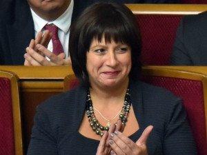 Finance Minister of Ukraine Natalie Jaresko