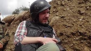 Journalist Andrey Stenin, killed in eastern Ukraine in June 2014