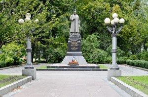 Monument to General Vatutin in Kiev