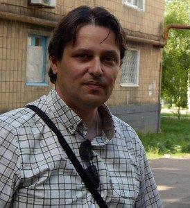 Laurent Brayard à Donetsk, le 20 mai 2015