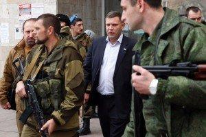 Prime Minister Alexandr Zakharchenko of Donetsk People's Republic (Reuters)