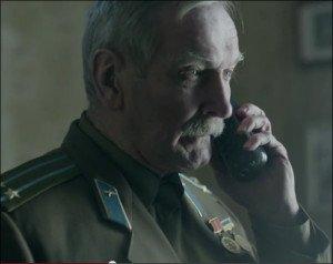 Screenshot of the Ukrainian publicity video rewriting WW2 history