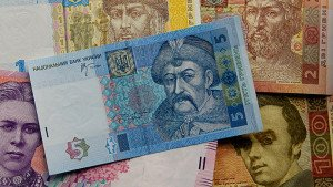 Ukraine's currency, the hryvnia, image by Gleb Garanich, Reuters