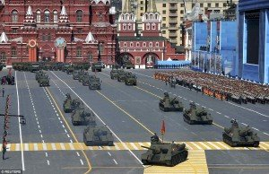 Victory Day military parade on Red Square May 9, 2015