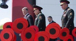 WW2 commemoration in Kyiv May 8, 2015 (image from website of P. Poroshenko)
