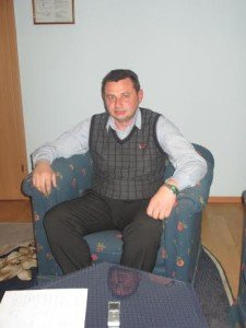 Aleksander Kolesnik, deputy of Novorossiya Parliament