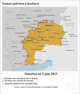 Carte situation au 3 juin 2015