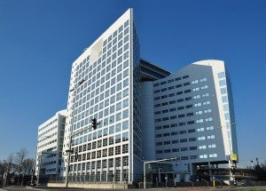 Headquarters of the International Criminal Court in The Hague, Netherlands (Wikipedia)