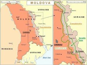 Map of Transniestria