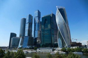 Moscow's financial district (Maxim Stulov, Vedomosti)