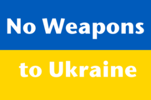 No weapons to Ukraine