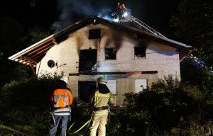 Asylum seekers' home torched in Remchingen, Germany (DPA)