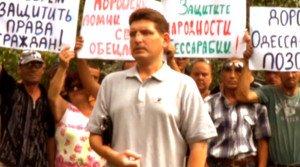 Bessarabia's new 'people's governor', Aleksandr Yankov (image from YouTube)