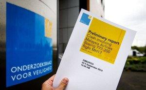 MH17 preliminary report, Sept 9, 2014