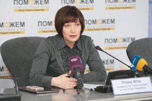 Rimma Fil, a coordinator of the Rinat Akhmetov Foundation of Ukraine