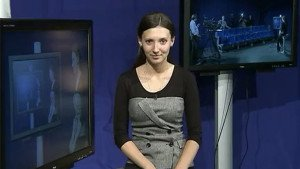 Russian journalist Aleksandra Cherepnina