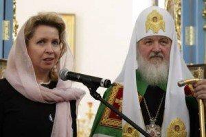 Svetlana Medvedeva and Patriarch Kirill