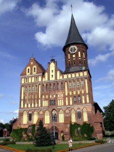 The restored Königsberg Cathedral in the Russian city of Kaliningrad in 2009 (Wikimedia)