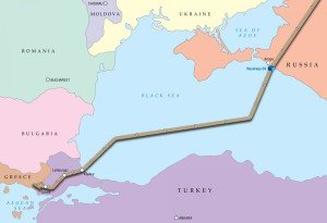 Turkish Stream gas pipeline project
