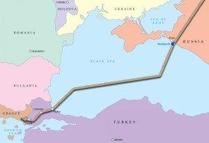 Turkish Stream gas pipeline project