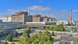 Zaporizhia Nuclear Power Plant in Ukraine, Europe's largest