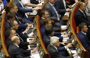 Deputies in Ukrainian Rada (Maxim Nikitin, Tass)