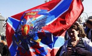 Flag of Novorossiya (Eugene Nadalinsky, Kommersant)
