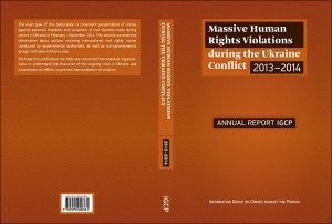 Forthcoming English version of IGCP report on human rights violations in Ukraine war