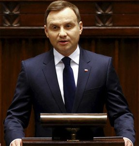 President Andrzej Duda of Poland (Kacper Pempel, Reuters)