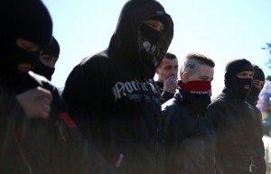 Right Sector members (Mikhail Pochuyev, ITA-TASS)
